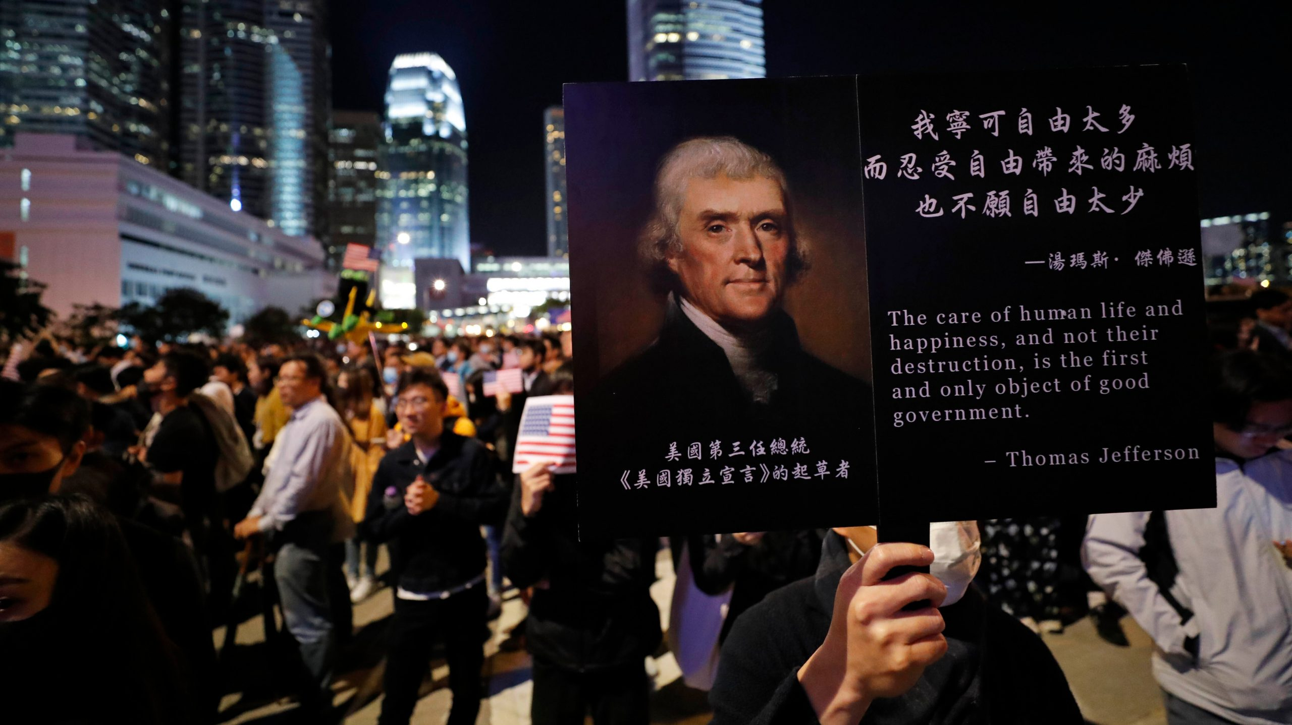 , Hong Kong Is Giving Thanks For the U.S.'s New Pro-Protesters Law. China Is Furious., Saubio Making Wealth