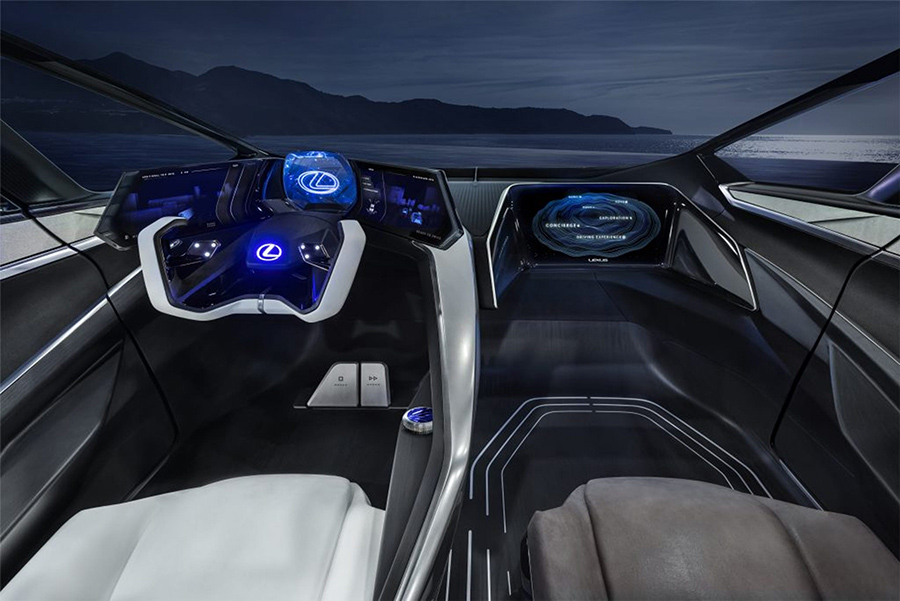 , Lexus LF-30 Debuts Electrified Concept, Saubio Making Wealth