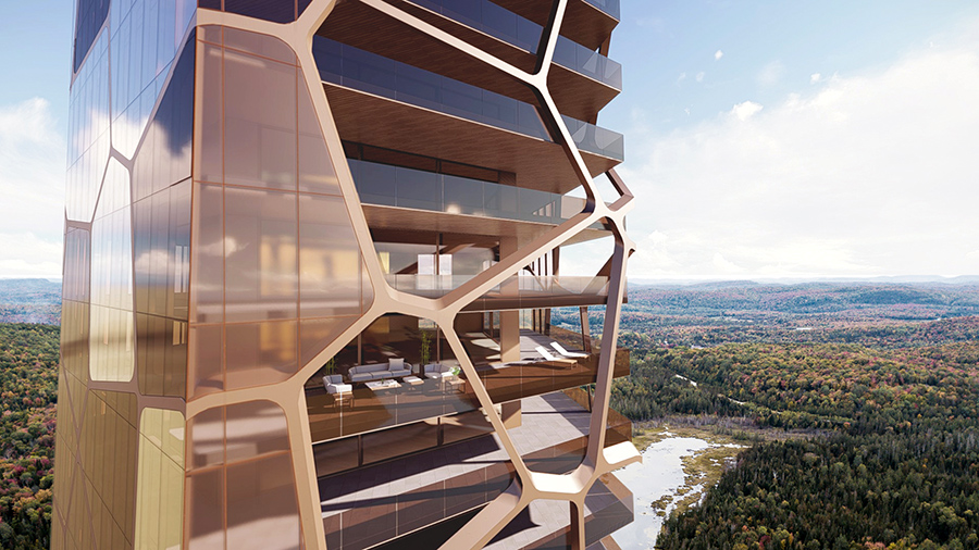 , Osmosis between Man and Nature, Haute Architecture in the Woods, Saubio Making Wealth