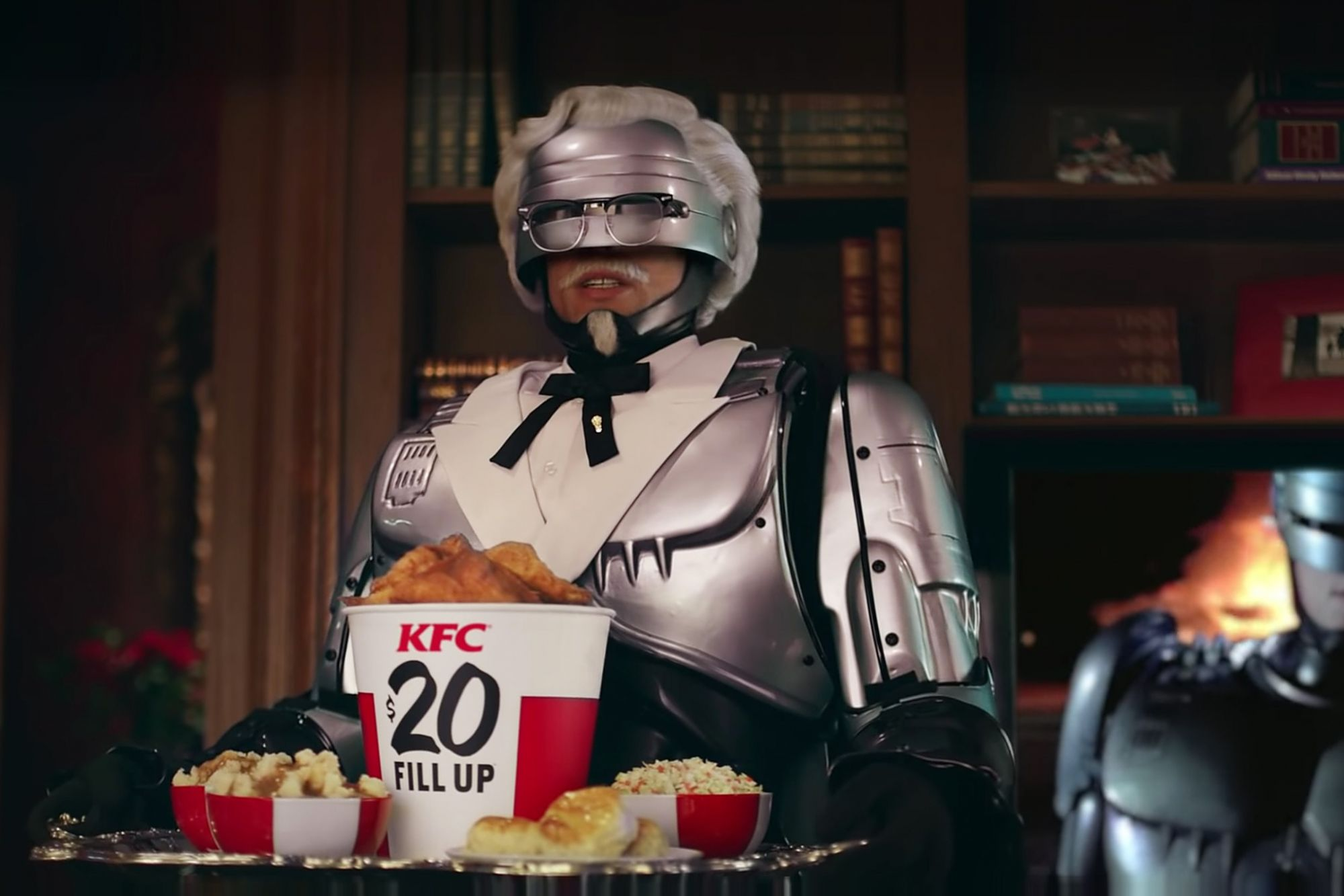 , KFC Enlists RoboCop to Protect Secret Recipe in New Campaign, Saubio Making Wealth