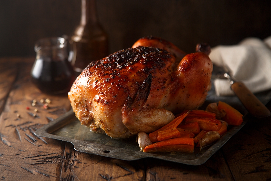 , Roast Goose/Hen recipe, a Perfect Serving for the Holidays, Saubio Making Wealth