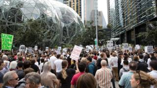 , Amazon 'threatens to fire' climate change activists, Saubio Making Wealth