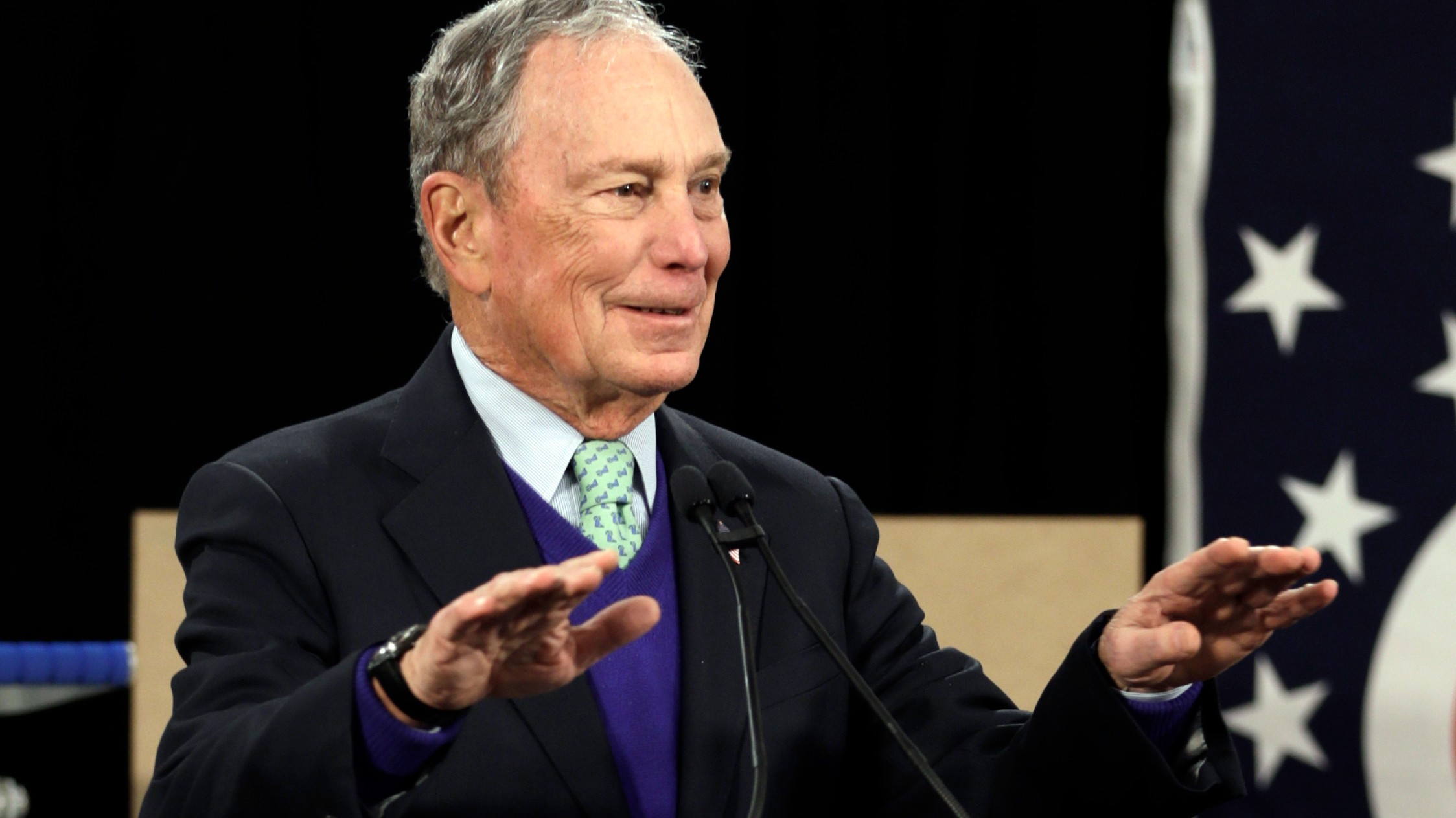 , Bloomberg Vows to Bury Trump With His Billions — Even If He's Not the Nominee, Saubio Making Wealth