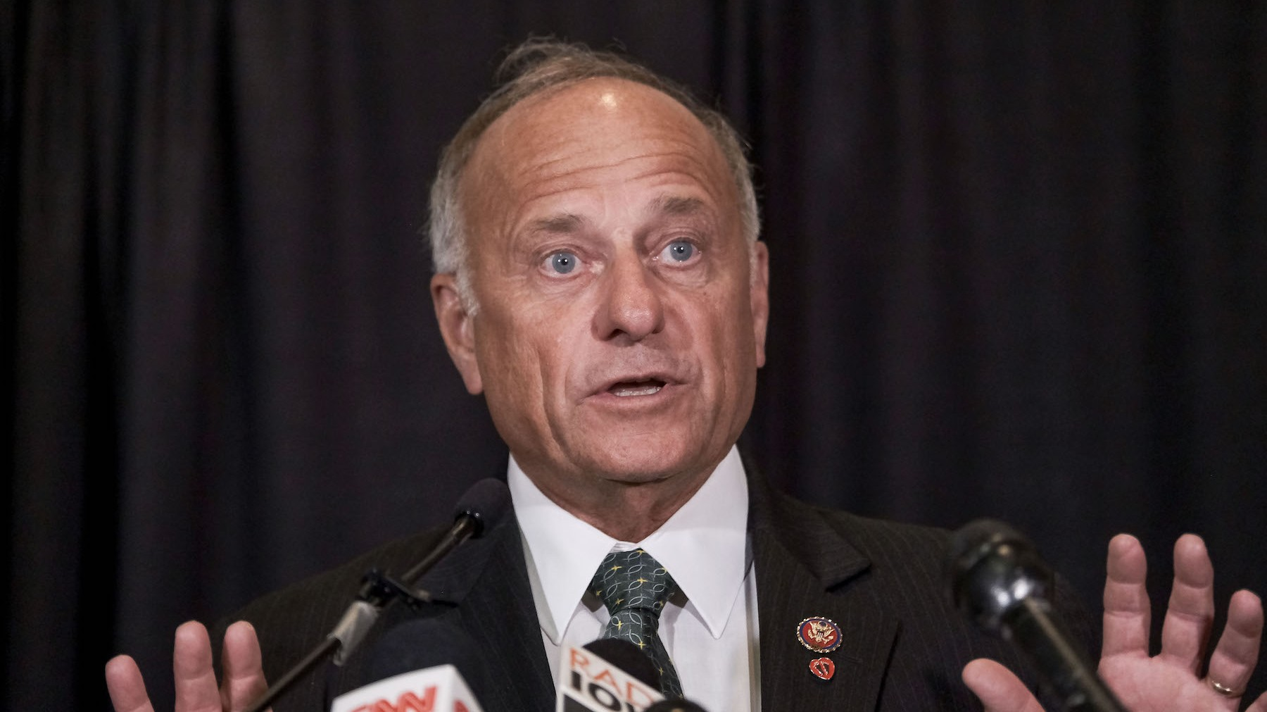 , Here's Yet Another Headline About Steve King Saying Something Racist, Saubio Making Wealth
