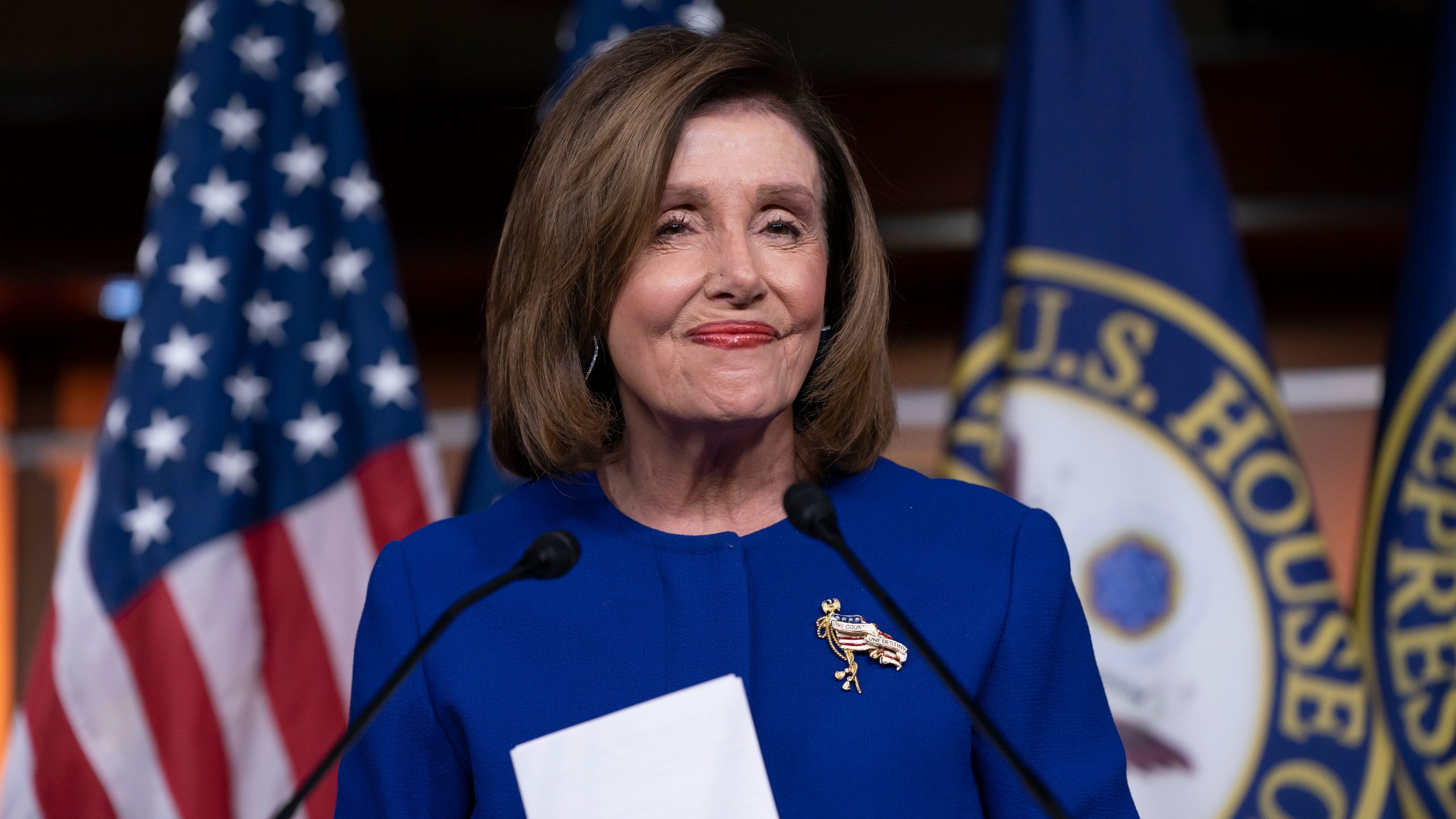 , Pelosi Says Trump's Impeachment Could Go to the Senate 'Next Week', Saubio Making Wealth