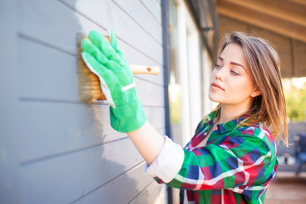 , How To Paint Your Home's Exterior, Saubio Making Wealth