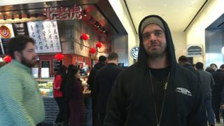 , 'I wasn't allowed to buy my burrito with cash', Saubio Making Wealth