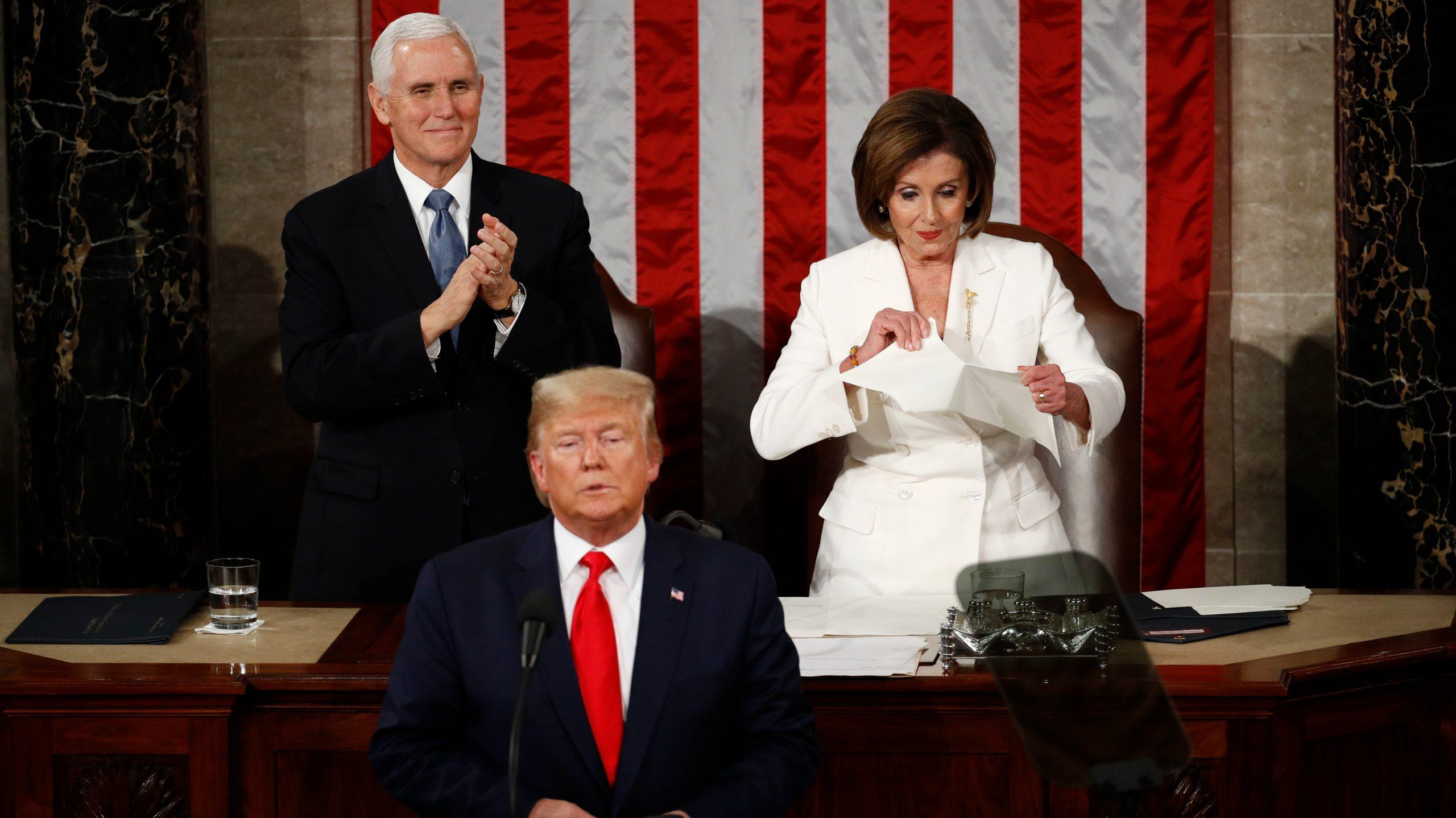 , Nancy Pelosi Literally Tore Up Trump's State of the Union Speech, Saubio Making Wealth