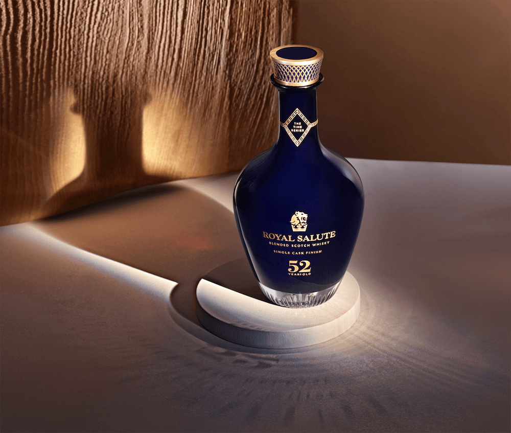 , Royal Salute Whisky time series 52-Year-Old Single Cask Finish, Saubio Making Wealth