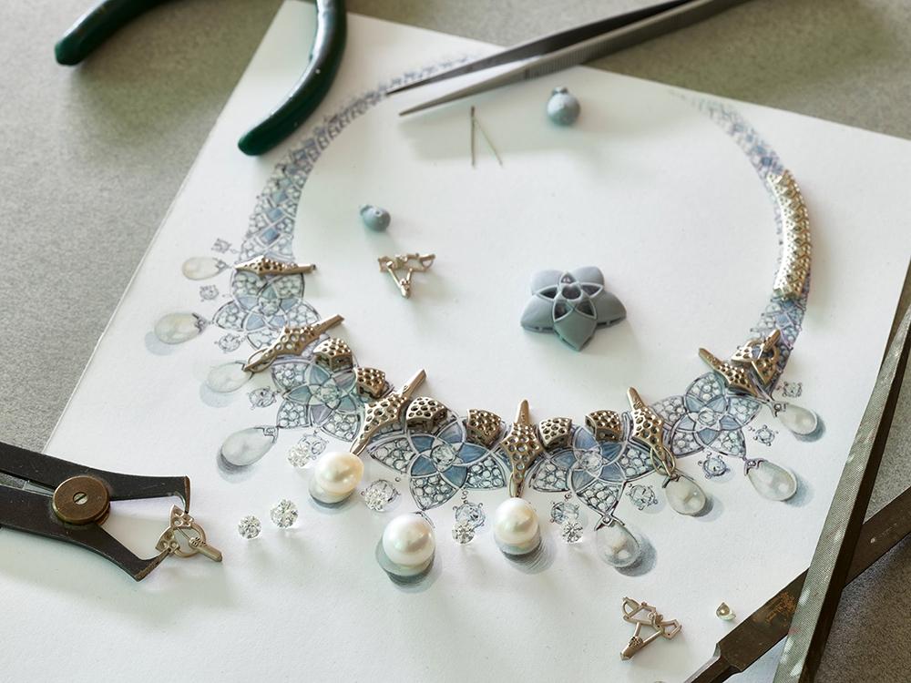 , Bvlgari and Sheikha Fatima's Luxury Jewelry Collection, Saubio Making Wealth