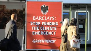 , Climate change: Greenpeace stops Barclays from opening branches, Saubio Making Wealth
