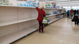 , Coronavirus: Supermarkets ask shoppers to be 'considerate' and stop stockpiling, Saubio Making Wealth