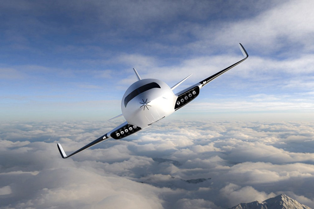 , The Eather One Electric Aircraft designed by Michal Bonikowski, Saubio Making Wealth