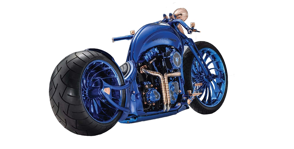 , The Most Expensive Motorcycles in the World, Saubio Making Wealth