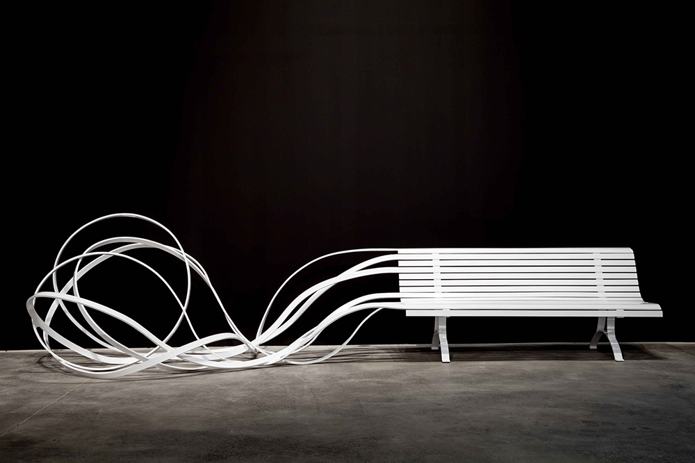 , Argentine-French artist and designer, Pablo Reinoso and his sculptures, Saubio Making Wealth