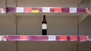 , Coronavirus: Shoppers stock up on alcohol amid lockdown, Saubio Making Wealth