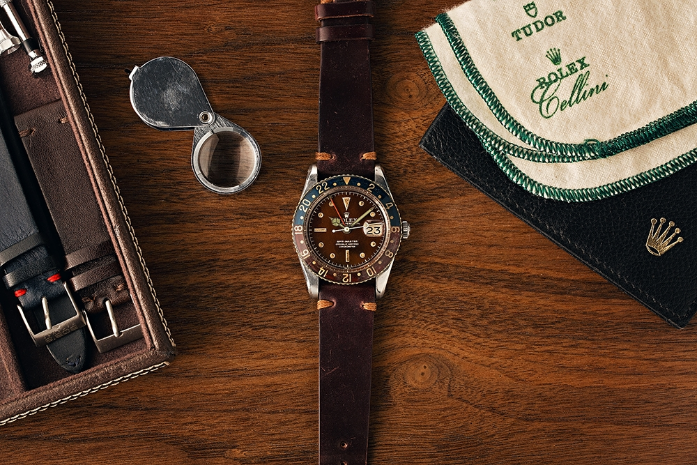 , Paul Altieri shares stories about his Coveted Rolex GMT-Master Collection, Saubio Making Wealth