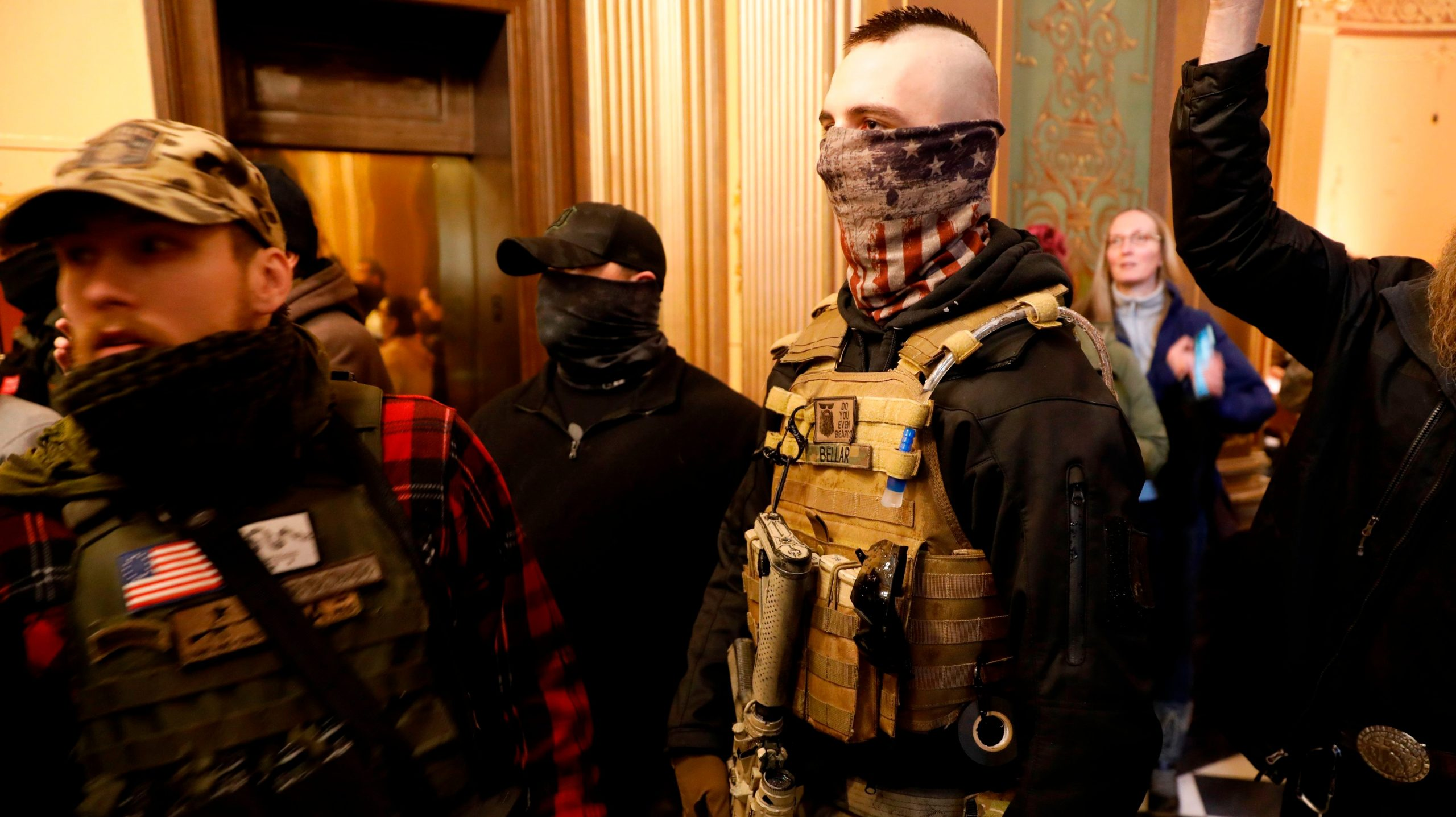 , People With Guns (And No Masks) Swarmed the Michigan State Capitol to Protest the Coronavirus Lockdown, Saubio Making Wealth