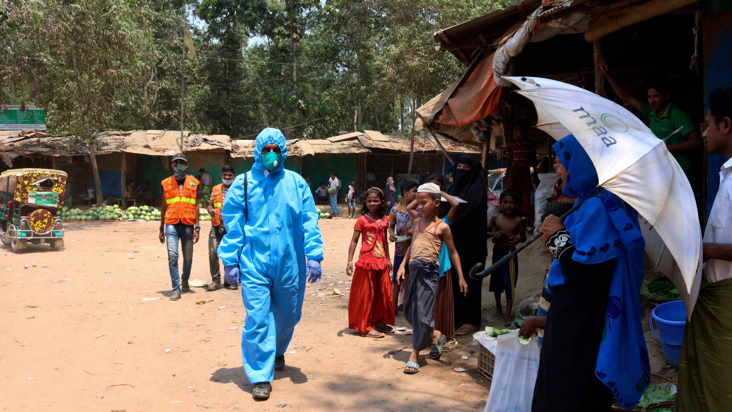 , 'A Nightmare Scenario': Coronavirus Has Reached the World's Biggest Refugee Settlement, Saubio Making Wealth