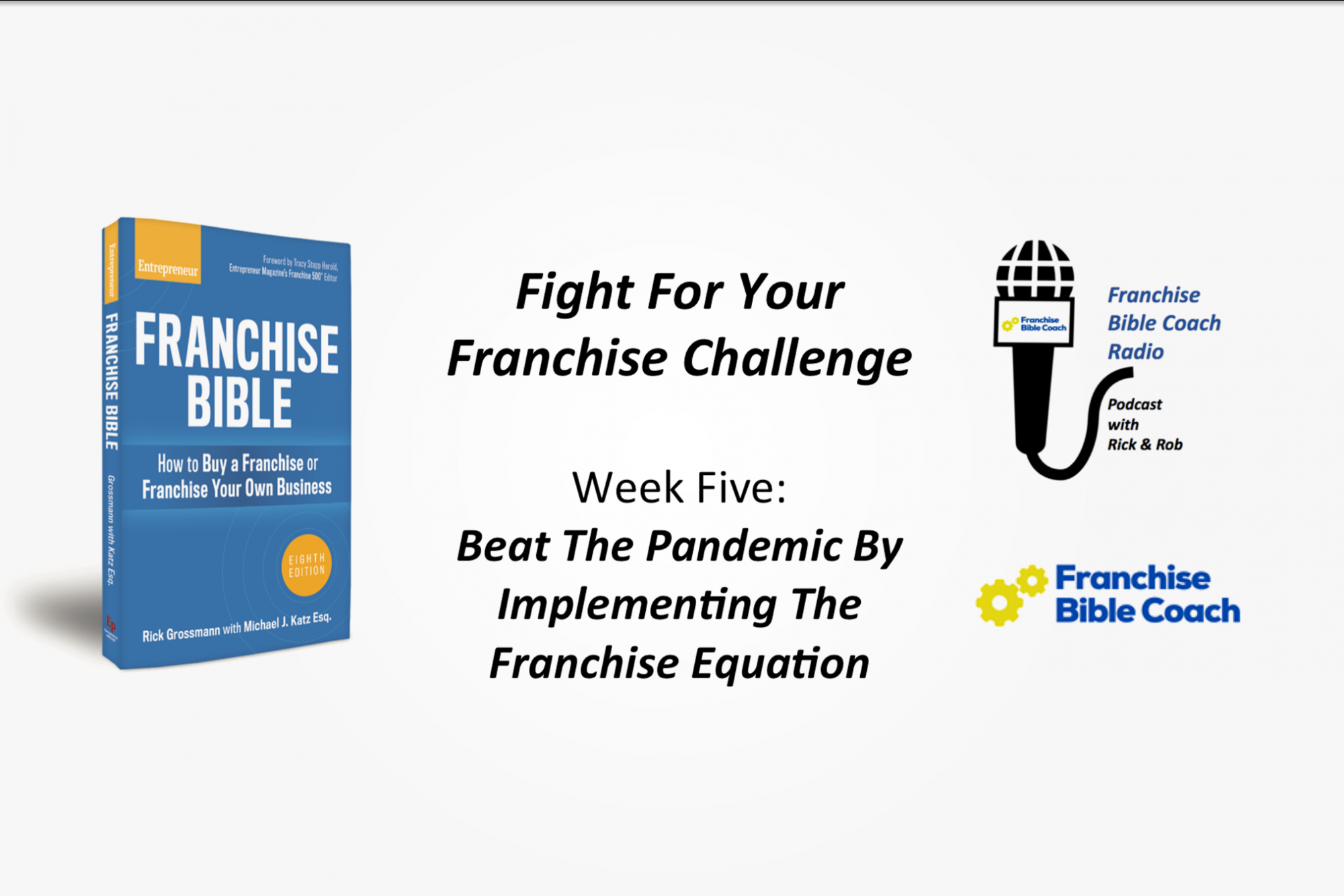 , Fight for Your Franchise Challenge, Week 5: Implementing the Franchise Equation, Saubio Making Wealth