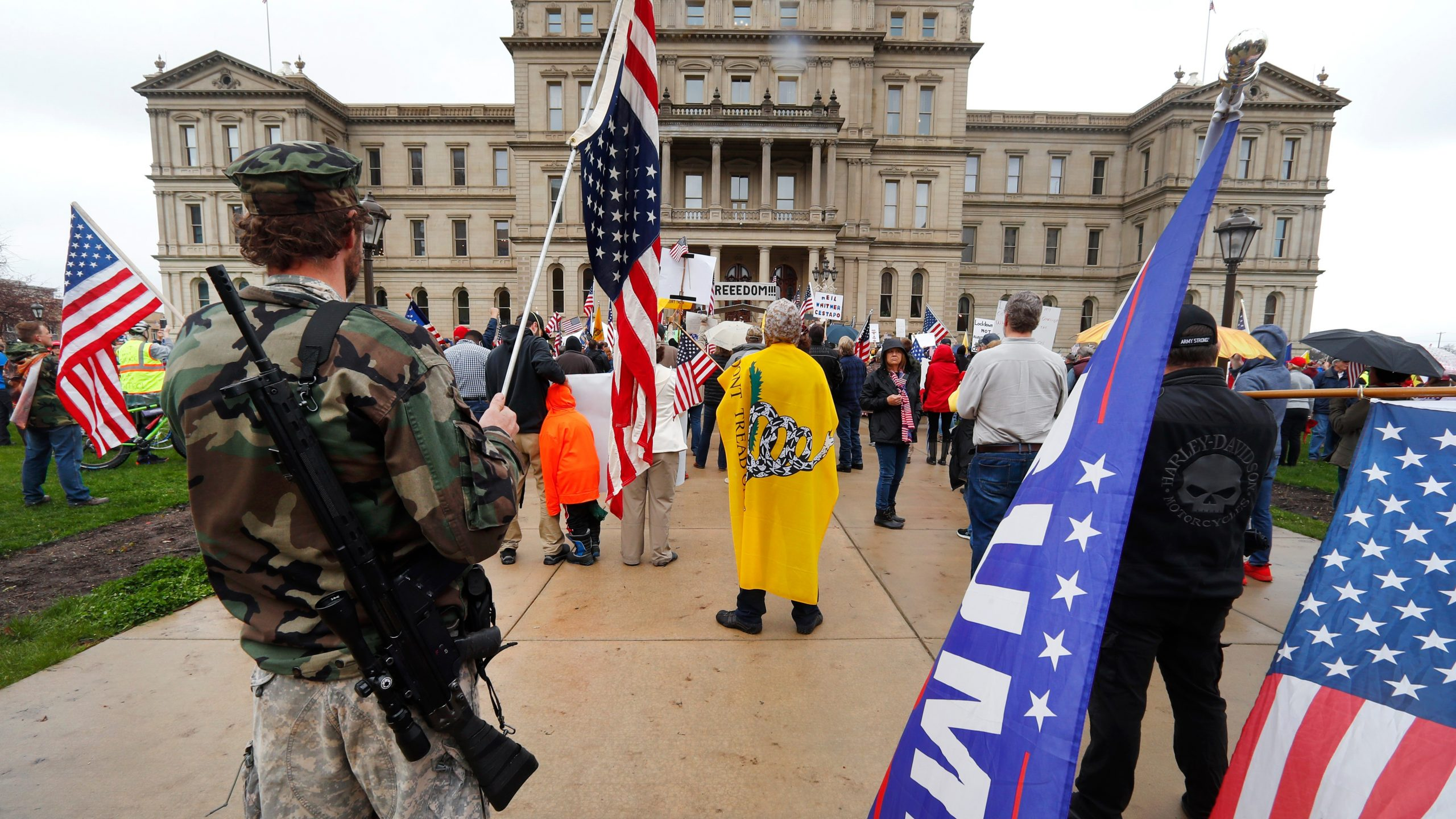 , Michigan Might Ban Guns From the State Capitol Because They 'Whack' the Walls, Saubio Making Wealth