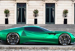 , The Alfa Romeo Montreal Vision GT Concept Takes Your Breath Away, Saubio Making Wealth