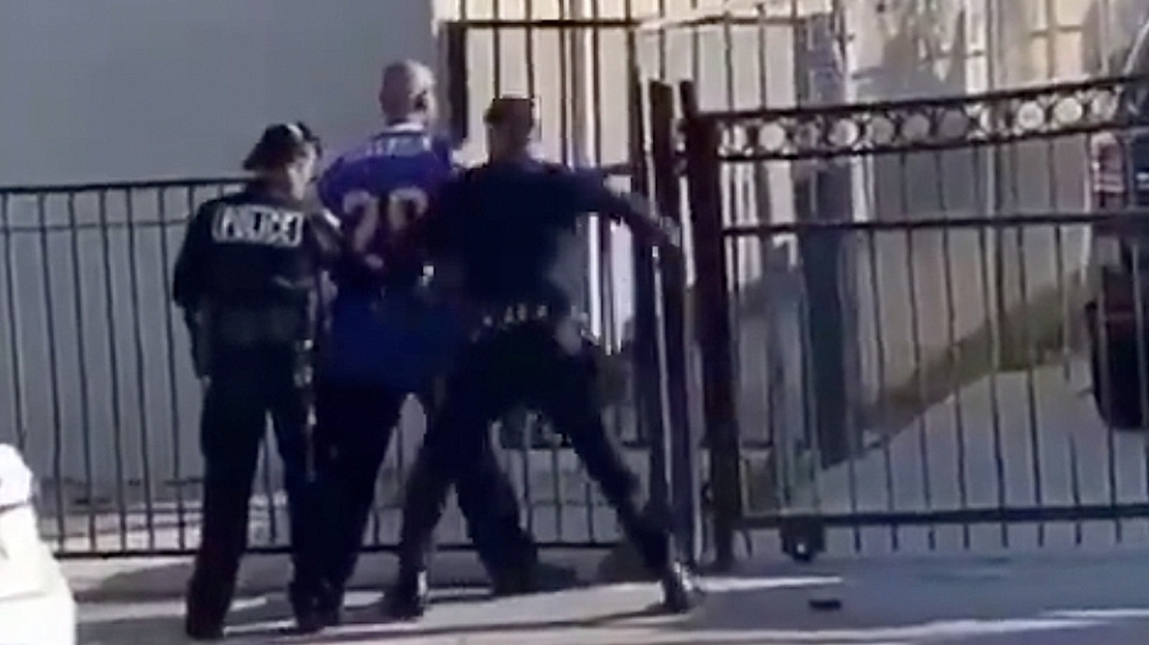 , The Homeless LA Man Who Got Punched by a Cop in That Viral Video Is Now Suing the City, Saubio Making Wealth