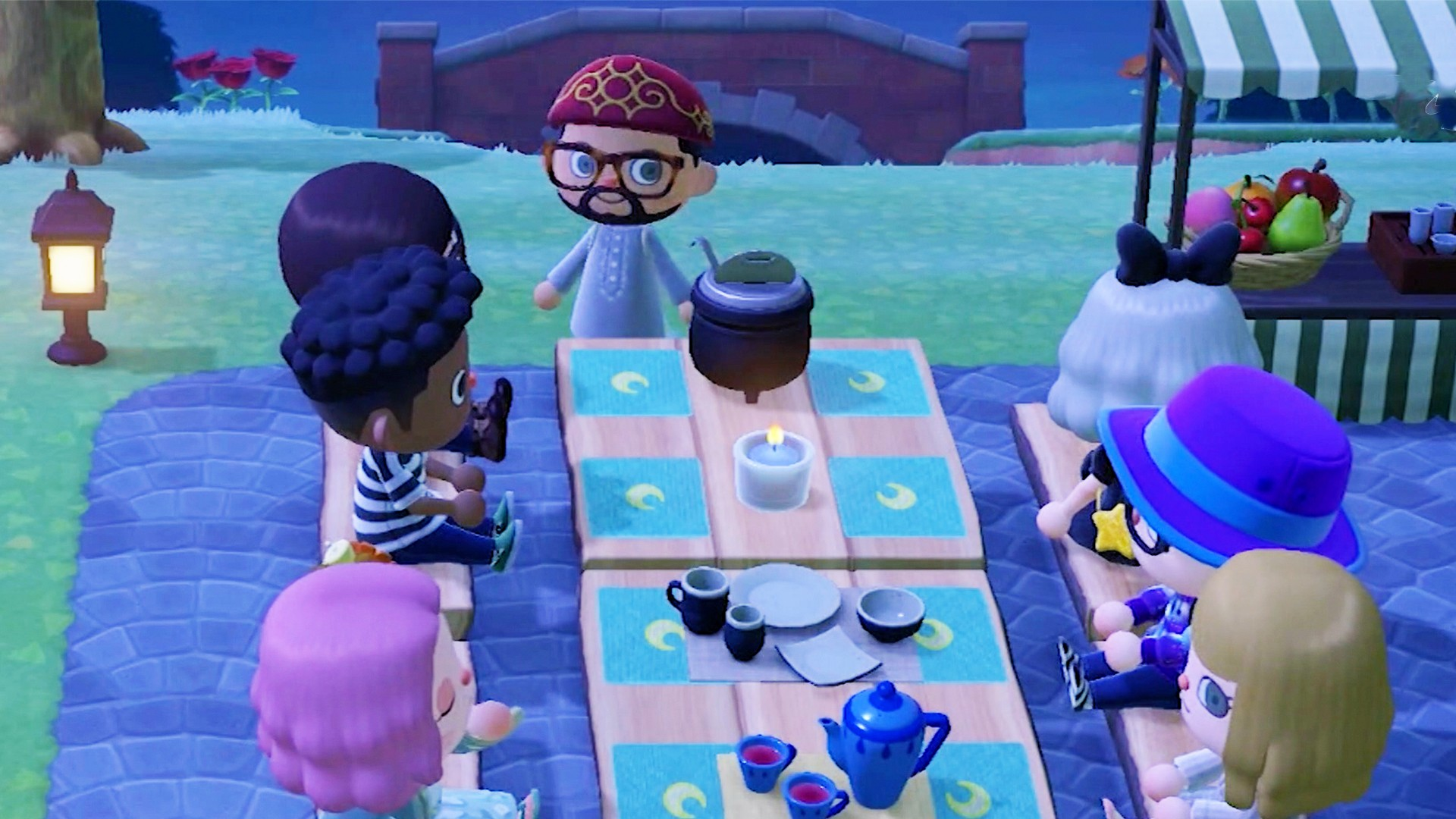, We Joined a Ramadan Celebration in Animal Crossing, Saubio Making Wealth