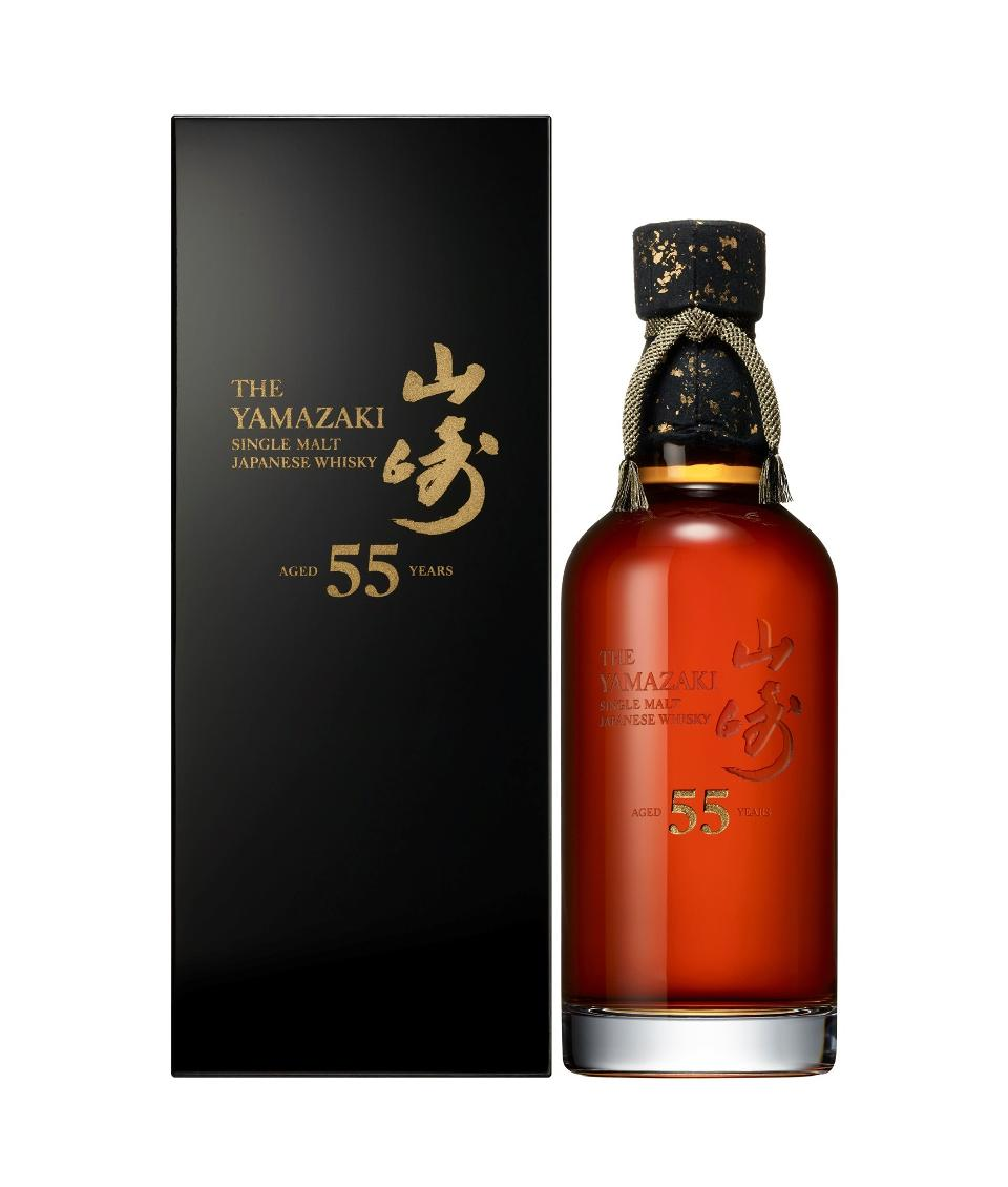 , Yamazaki 55-Year-Old Japanese Whiskey, Saubio Making Wealth