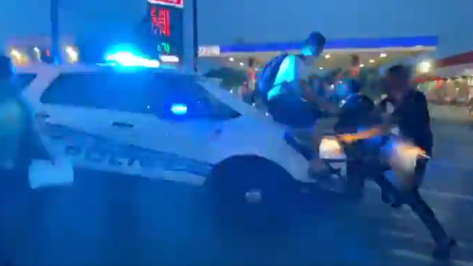 , A Detroit Cop Drove an SUV Through a Crowd and Sped Away With a Protester on the Hood, Saubio Making Wealth