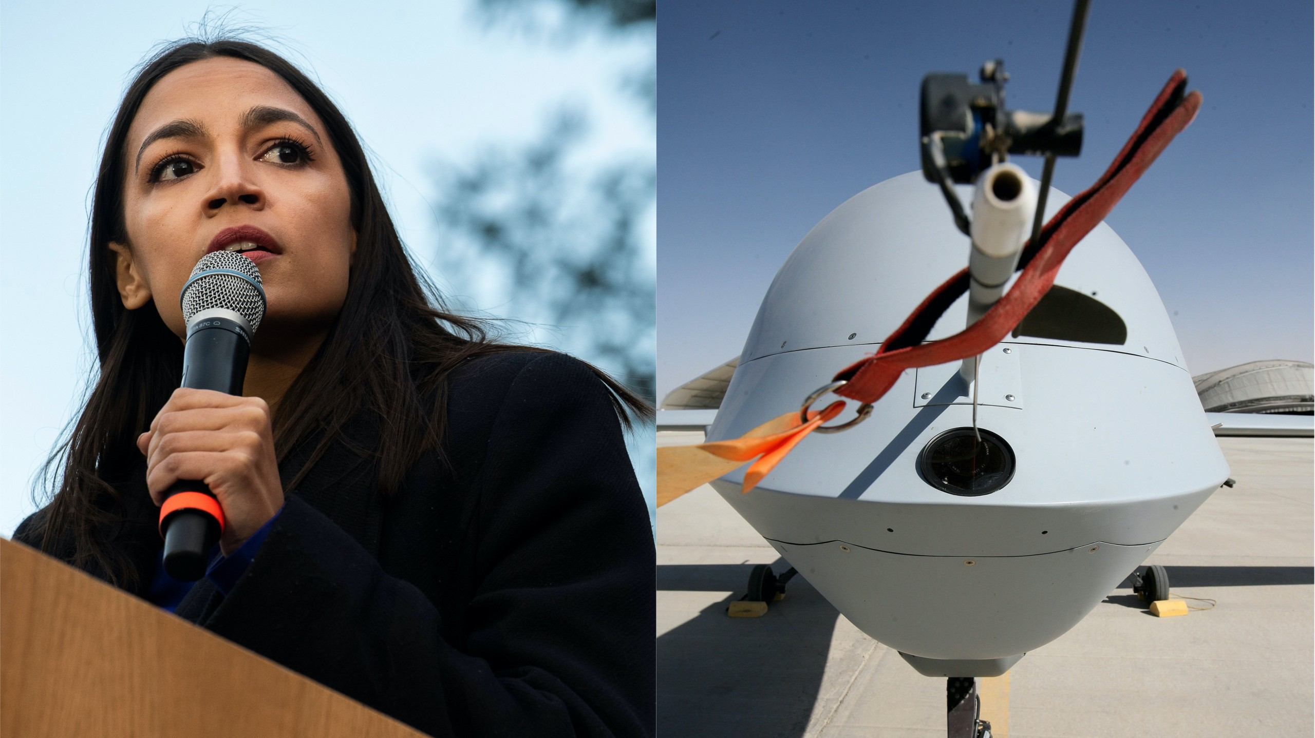 , AOC Wants to Know Why the Hell a Predator Drone Was Spying on Protesters, Saubio Making Wealth