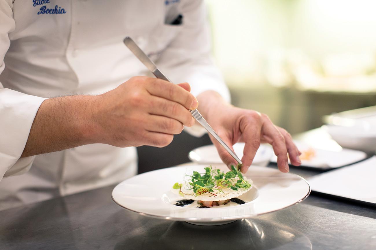 , Chef Ettore Bocchia, Leading the way in Molecular Cuisine, Saubio Making Wealth