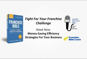 , Fight for Your Franchise Challenge, Week 9: Money-Saving Efficiency Strategies, Saubio Making Wealth