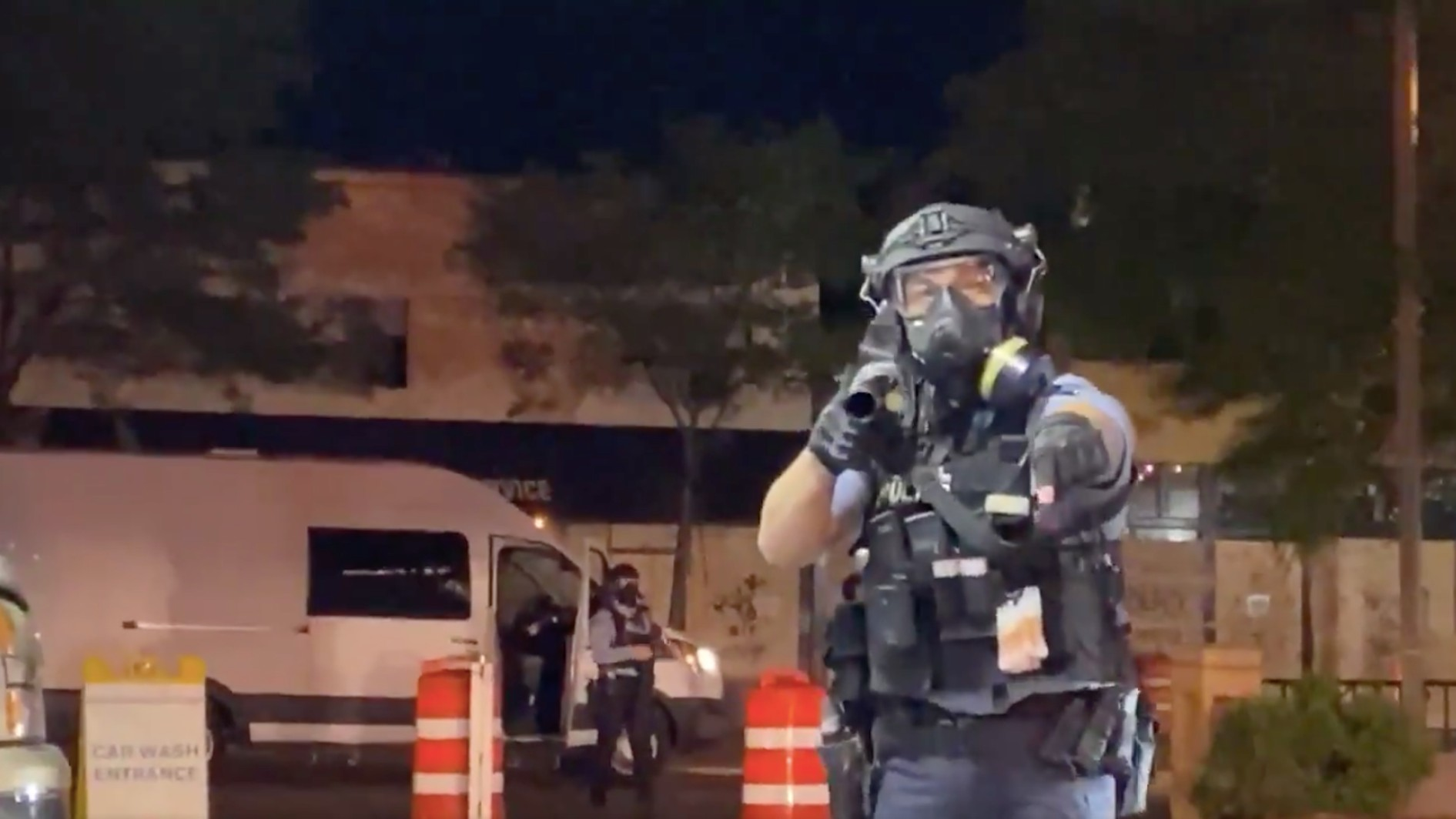 , I Told Riot Cops I'm a Journalist. They Forced Me to the Ground and Pepper-Sprayed Me in the Face., Saubio Making Wealth