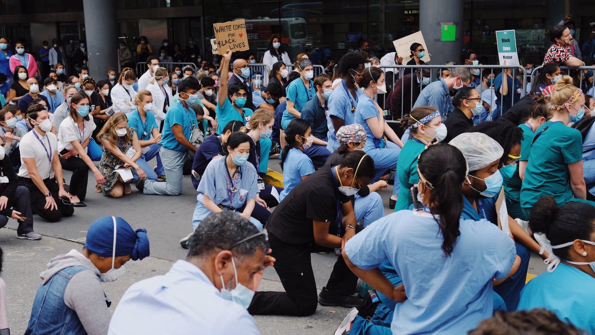 , These Doctors Are Joining the George Floyd Protests — Despite the Pandemic, Saubio Making Wealth