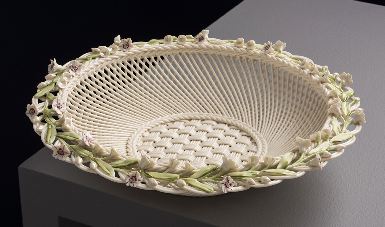 , Belleek, Ireland's Oldest Craft Pottery Continuing an Age-Old Tradition, Saubio Making Wealth