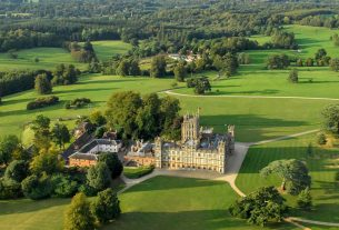 , Highclere Castle, The Real Downtown Abbey's Own Award-Winning Gin, Saubio Making Wealth
