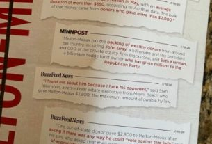 , Ilhan Omar Campaign Mailer Accuses Opponent of Being 'in the Pocket of Wall Street' and Only Quotes Jewish Donors by Name, Saubio Making Wealth