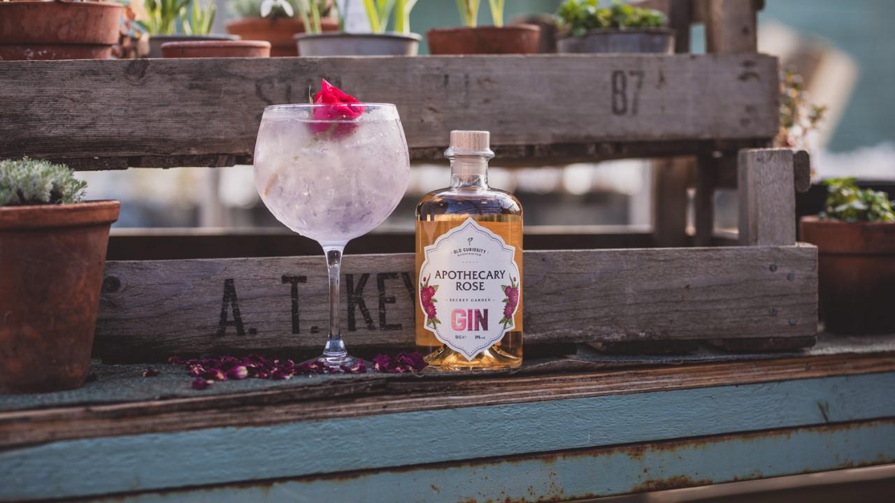 , Rose Gin, The Secret Garden and Edinburgh's Eco-Conscious Wild Gin, Saubio Making Wealth