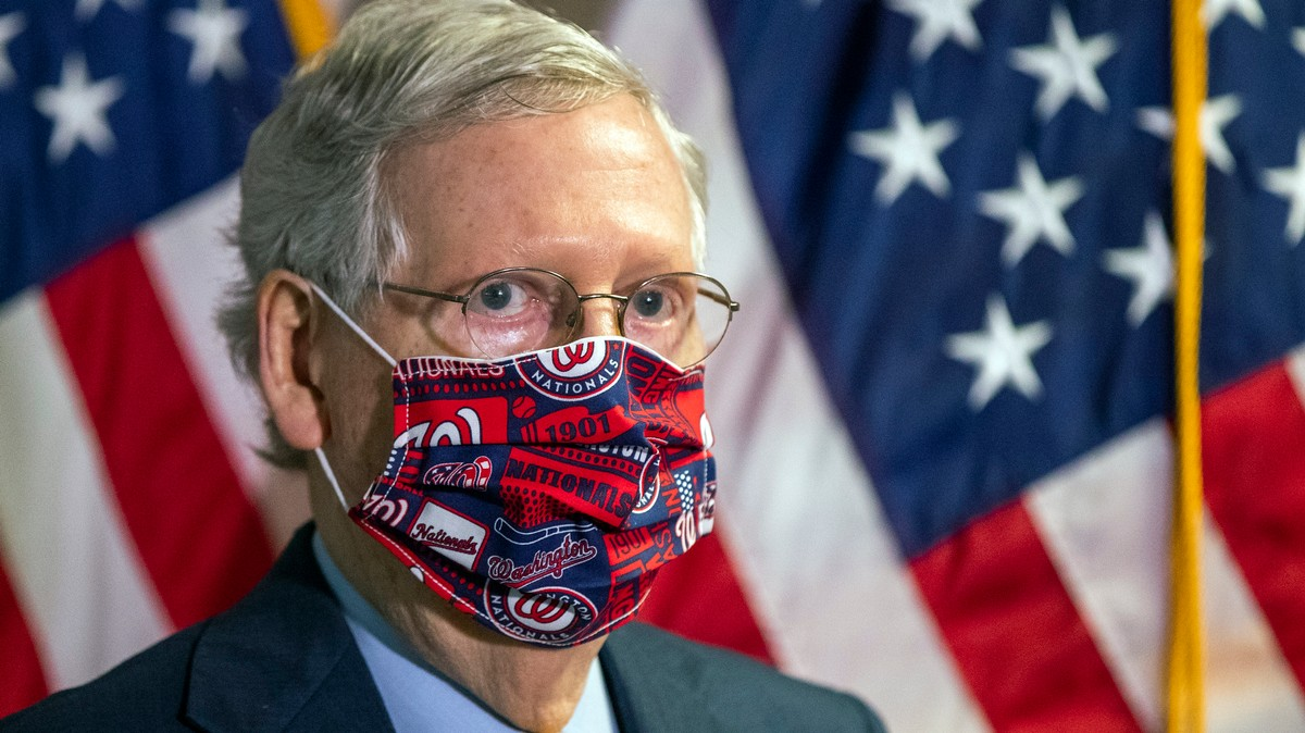 , A Desperate Trump Might Be Willing to Ditch Mitch McConnell's Top Stimulus Priority, Saubio Making Wealth