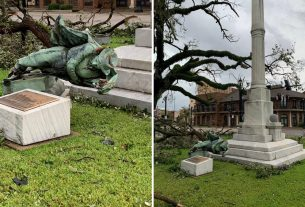 , Hurricane Laura Tore Down a Confederate Statue That Local Officials Voted to Keep, Saubio Making Wealth