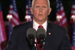 , Pence Touts 'Thin Blue Line,' Warns 'You Won't Be Safe in Joe Biden's America', Saubio Making Wealth