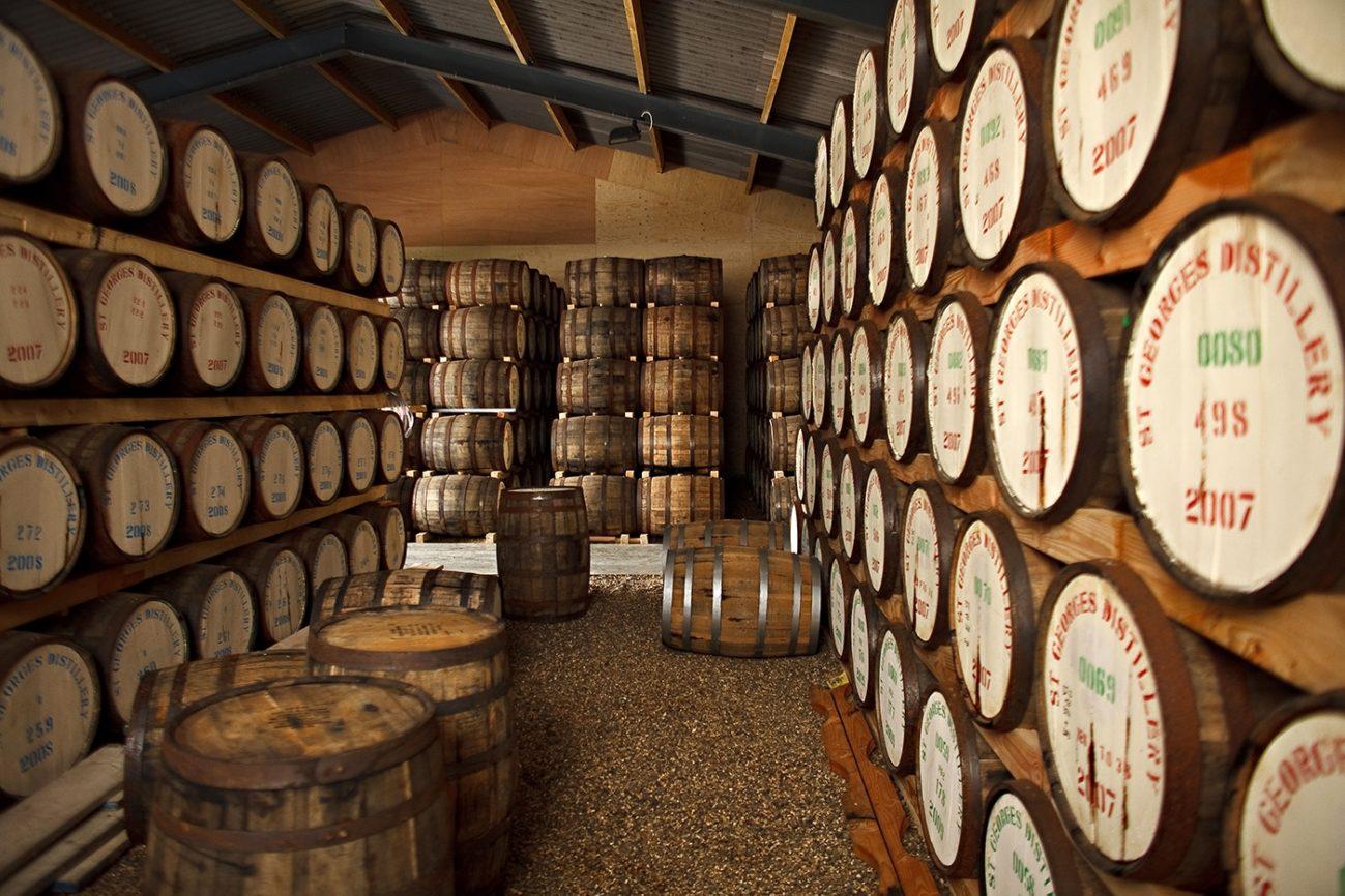 , St George's Distillery is England's Oldest Whiskey Distillery, Saubio Making Wealth