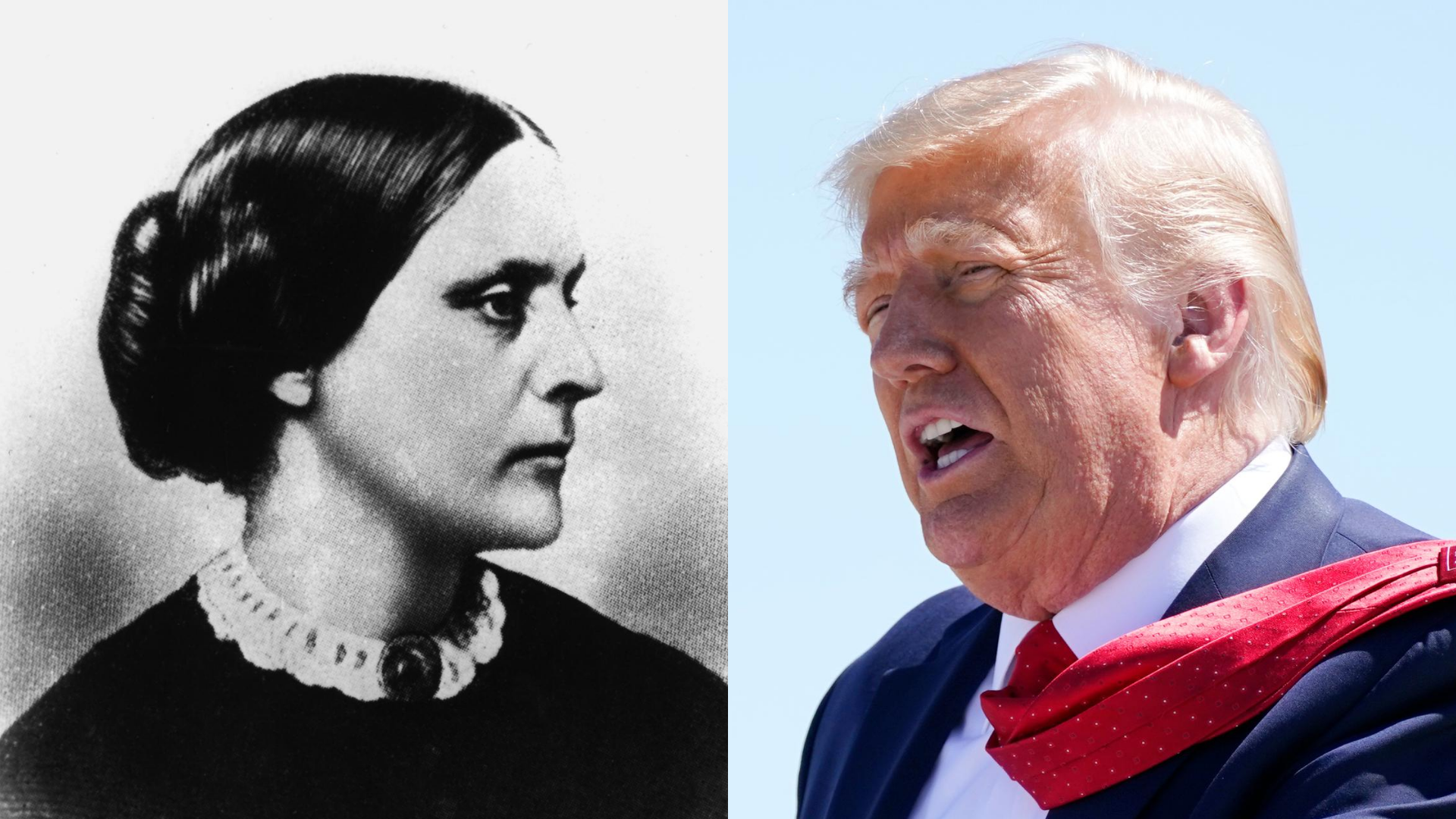 , Trump Just Pardoned Susan B. Anthony, Who Has Been Dead For 114 Years, Saubio Making Wealth