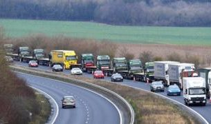 , Brexit letter warns of 7,000-truck queues in Kent, Saubio Making Wealth