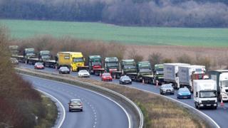 , Brexit letter warns of 7,000-truck queues in Kent, Saubio Making Wealth