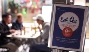 , Eat Out to Help Out drives UK inflation to five-year low, Saubio Making Wealth