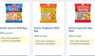 , Haribo stocks run low at Tesco over price cut row, Saubio Making Wealth