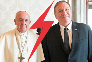 , The Pope and Mike Pompeo's Relationship Is Getting Very Frosty, Saubio Making Wealth