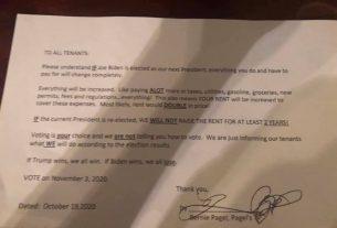 , Trailer Park Landlord Allegedly Threatened Tenants With Rent Hike If Biden Wins, Saubio Making Wealth